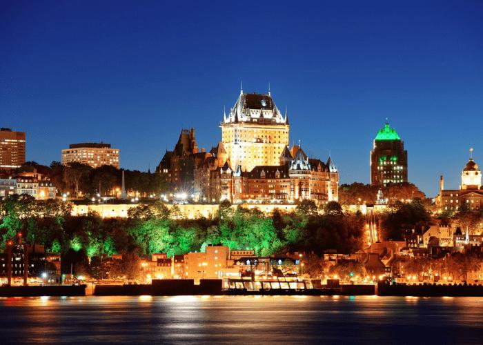 Quebec City, Night