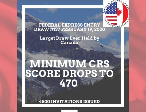 Government of Canada Conducts Highest Express Entry Draw in History