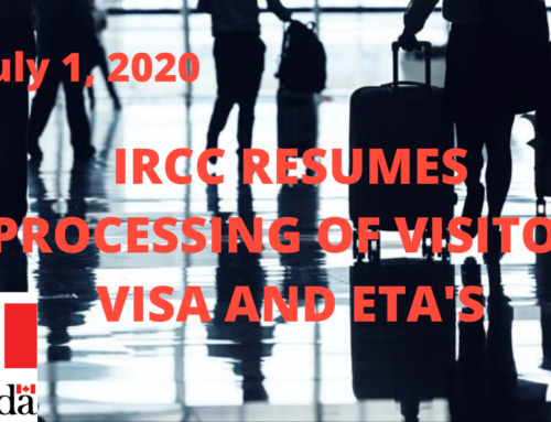 IRCC Resumes Processing of Online Applications for Visitor Visas and eTA's