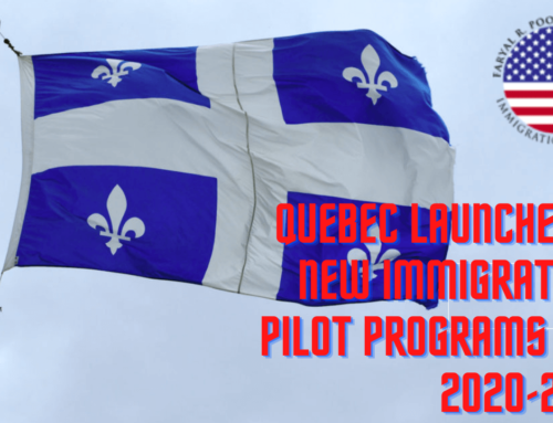Quebec Provides Details of 3 New Immigration Pilot Programs for 2020-2021