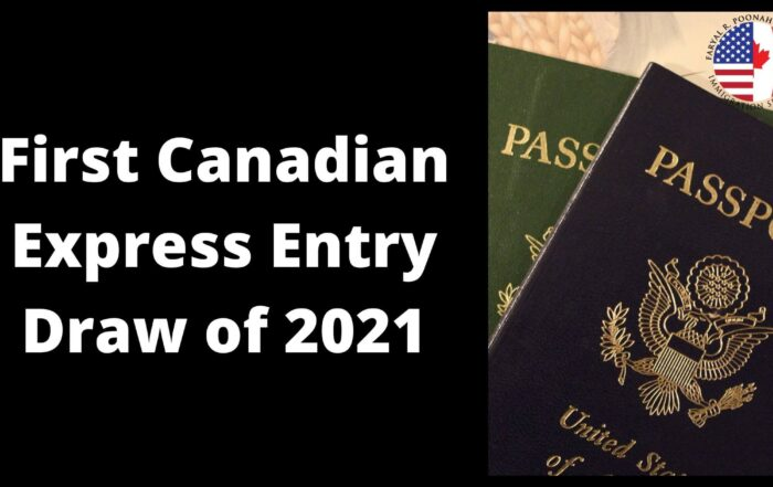 First Express Entry Draw of 2021