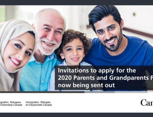 Parents and Grandparents Sponsorship Program Issues Invitations for 2020 Intake!