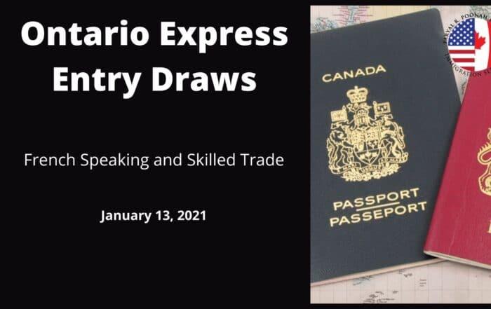 Trade Express Entry Draws