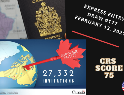 First Express Entry Draw #177 – February 13, 2021
