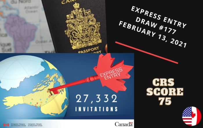 Express Entry Draw #177