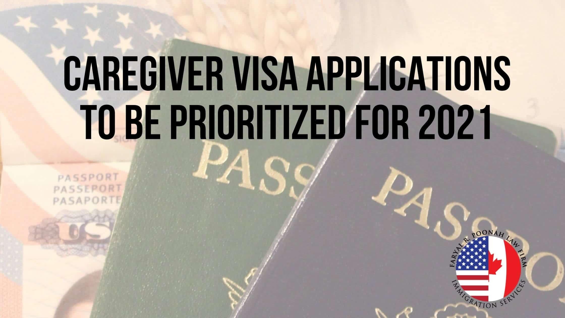 Caregiver Visa Applications Canada