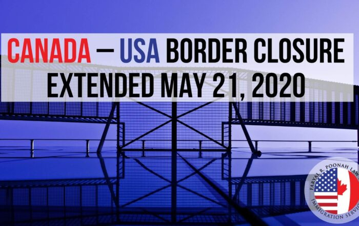 Canada US Border Close