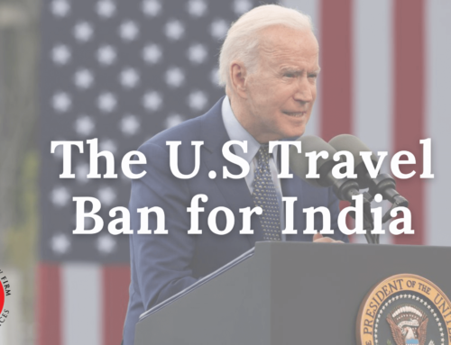 The U.S Travel Ban for India