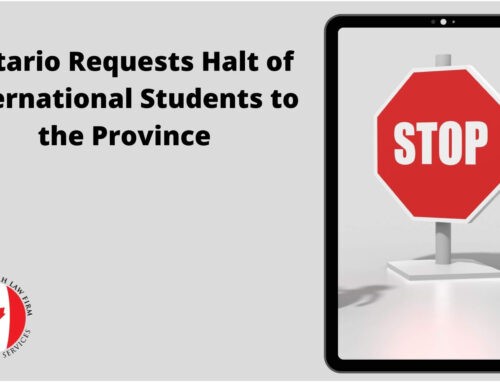 Ontario Canada Requests Halt of International Students to the Province