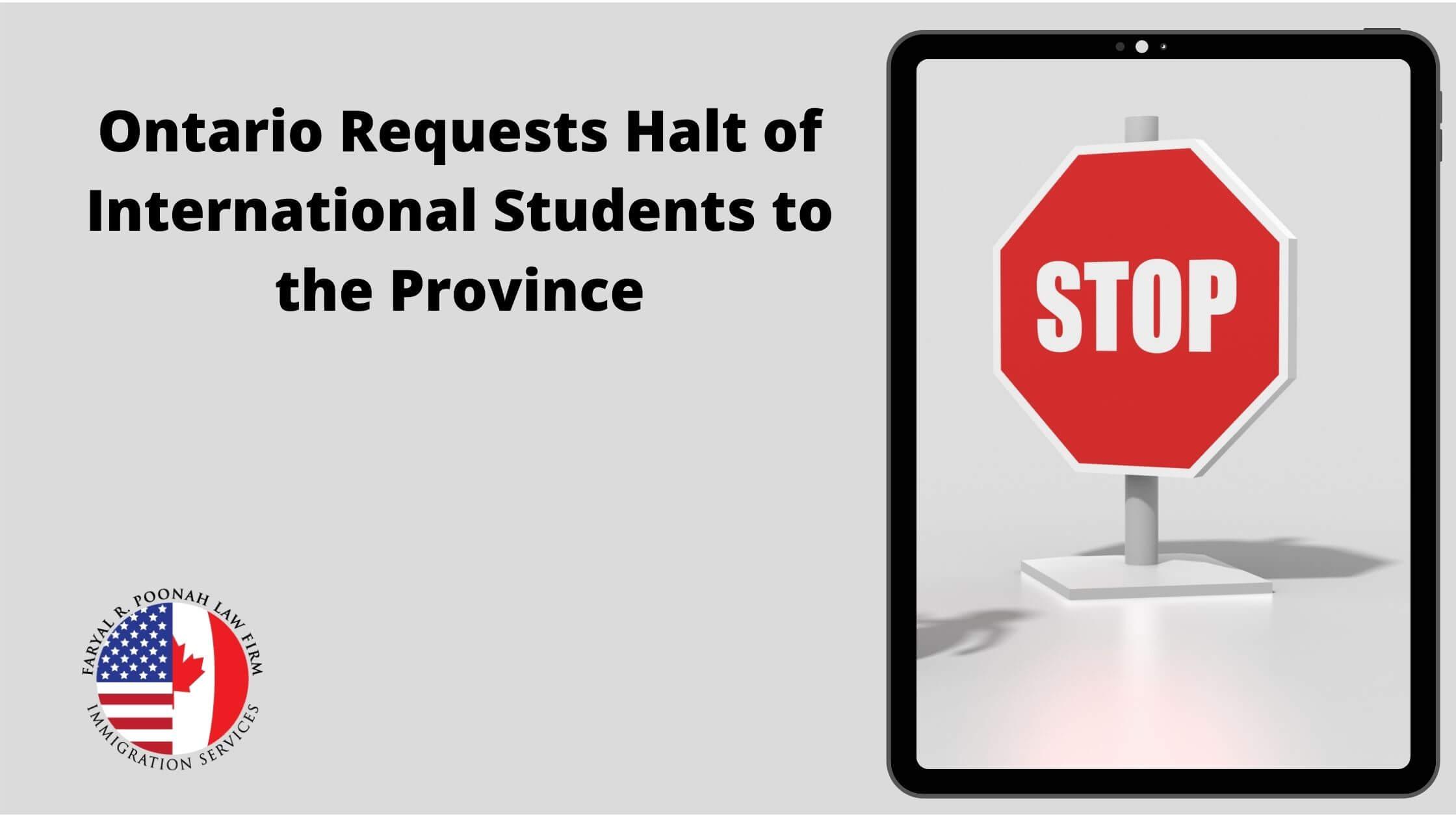 Halt of International Students